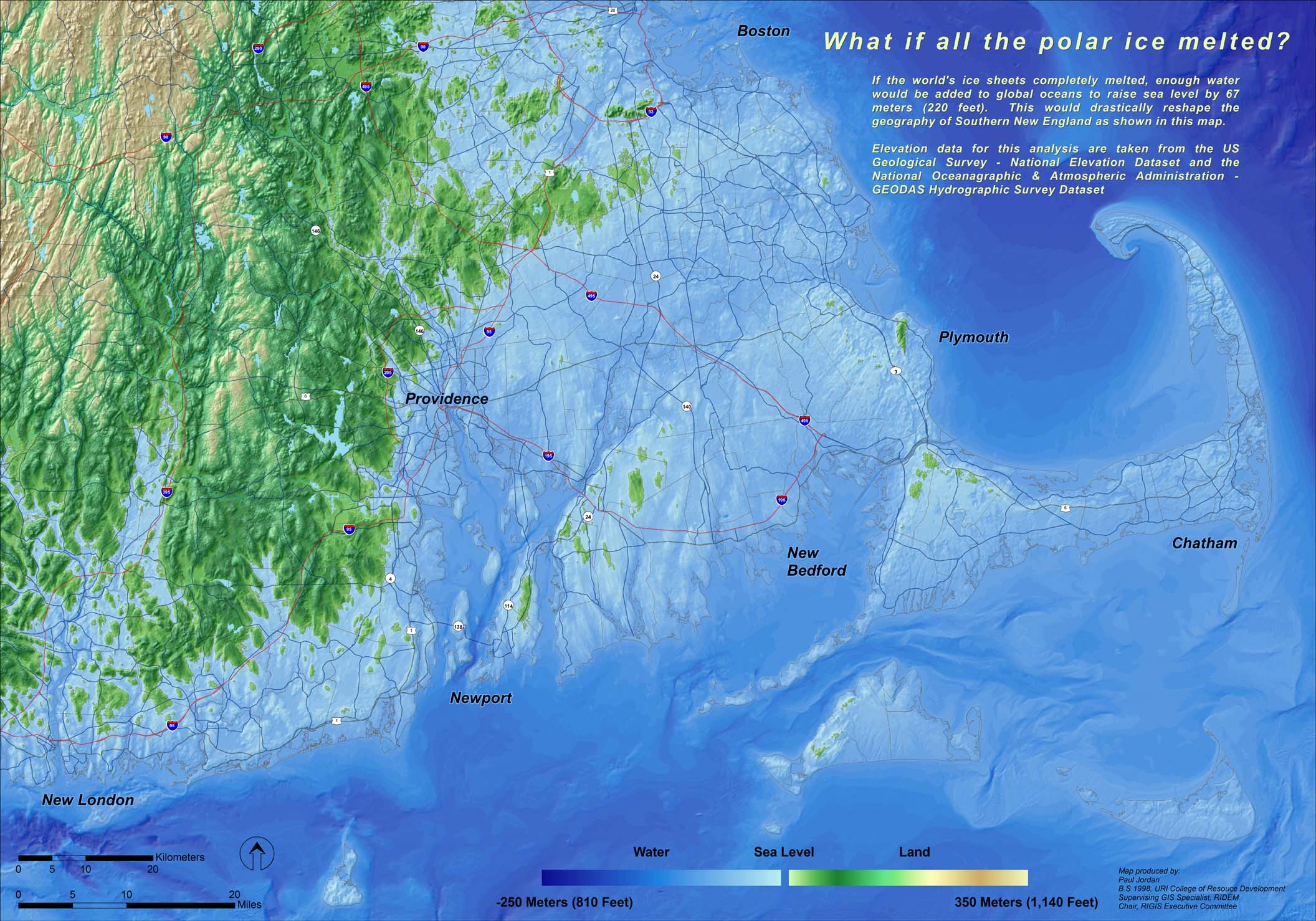 Sea Level Rise And Rhode Island S Climate Challenge