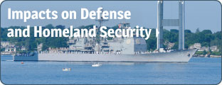 Impacts on Defense and Homeland Security