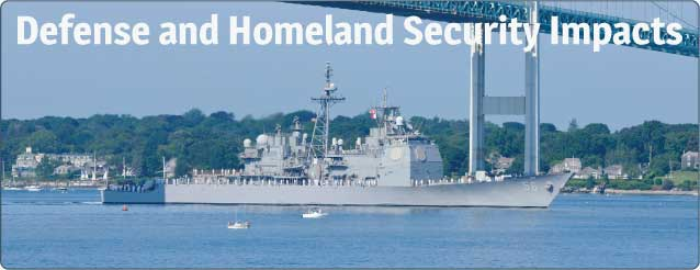 Defense and Homeland Security Impacts