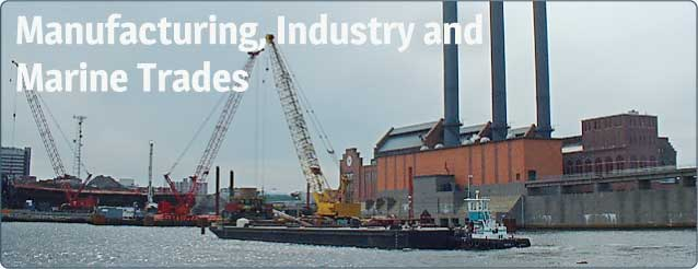 Manufacturing, Industry and Marine Trades