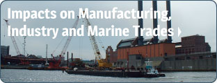 Impacts on Manufacturing, Industry and Marine Trades